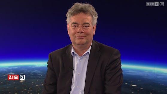 "Vizekanzler Werner Kogler in der ""ZIB 2"""