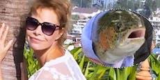 Nackt-Model soll Fisch gequält haben, Polizeiermittelt
