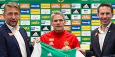 In neuen Trikots! Rapid peilt Europa-League-Aufstieg an