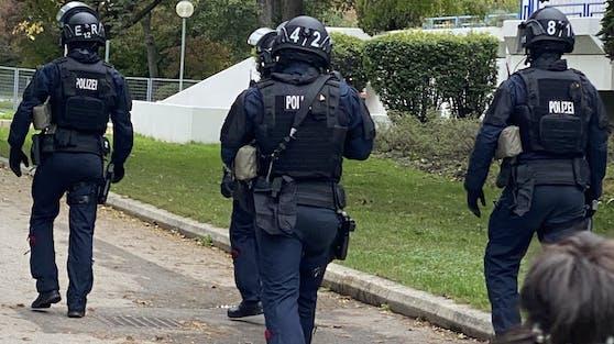 Fahndung der Polizei-Spezialeinheit WEGA in Wien (Symbolbild)