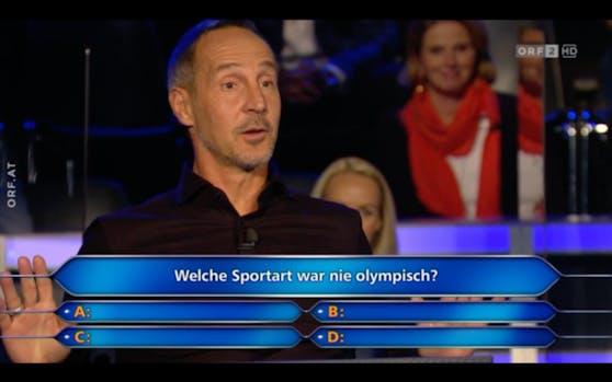 Da war Adi Hütter überfragt.