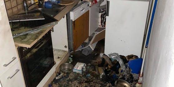In einer Brucker Wohnung kam es am Montagabend (19.10.2020) zu einer Explosion.