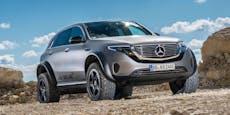 Mercedes zeigt EQC mit extremen Offroad-Fähigkeiten