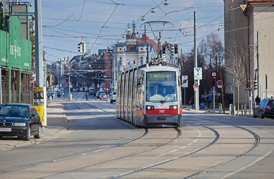 Die Bim-Linie 49 fährt nur zwischen Hütteldorf und Breitensee.