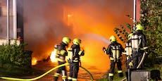 Nach Explosionen brannte ganze Müllfirma