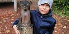 Bub (8) spendete sein Taschengeld für den Tierpark Haag
