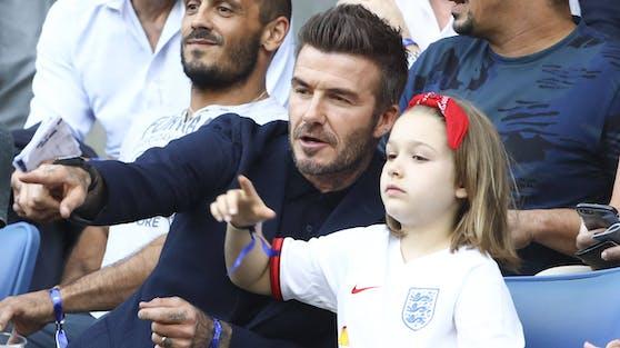 David Beckham pflegt ein liebevolles Verhältnis zu seiner Tochter Harper. Für viele geht seine Zuneigung zu weit.