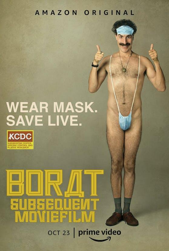 """Das offizielle Filmplakat für""""Borat Subsequent Moviefilm"""""""