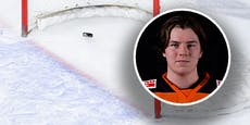 Eishockey-Talent (18) kracht gegen Tor, ist gelähmt