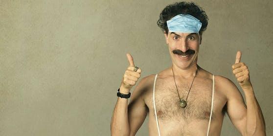 Sacha Baron Cohen auf dem offiziellen Filmplakat