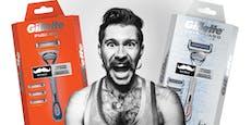 Gewinne ein Gillette x Movember Shaving Package