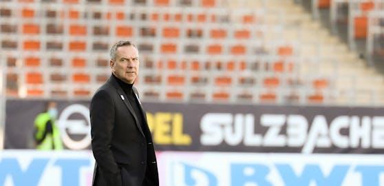 LASK-Coach Dominik Thalhammer.