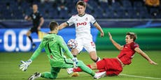 Umkämpftes 2:2! Salzburg vergibt Sieg gegen Moskau
