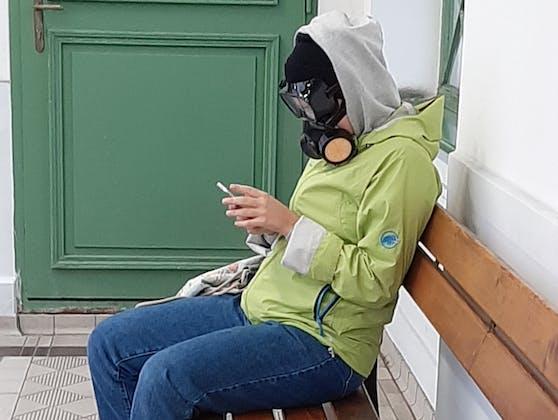 Diese Wienerin nahm die Maskenpflicht in den Öffis ernst
