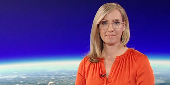 Nadja Bernhard vergangenes Jahr, mit heiß diskutierter Brille