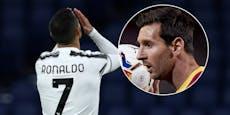 Ronaldo wieder positiv! Duell mit Messi wohl geplatzt