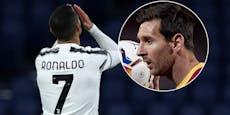 Messi knackt den Instagram-Rekord von Ronaldo