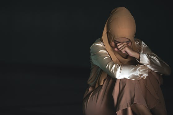 Die Frau fürchtete, dass ihre Familie entehrt würde. Symbolfoto