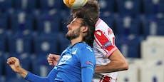 Baby-Alarm! ÖFB-Star musste in der Europa League weg