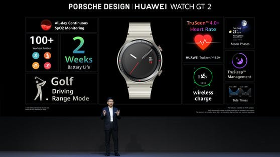 Die Porsche Design Huawei Watch GT 2