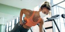 Es gibt jetzt eigene Masken fürs Workout