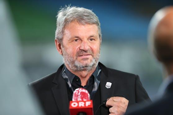 LASK-Vizepräsident Jürgen Werner kann die ÖFB-Entscheidung nicht nachvollziehen.
