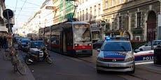 Mann bedrohte Frau in Wien mit Messer - Festnahme!