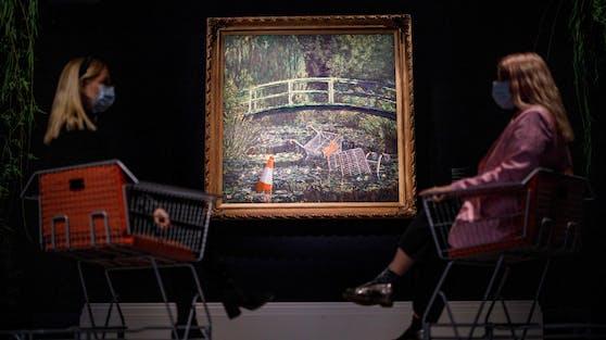 ironische Neuinterpretation eines Monet-Gemäldes