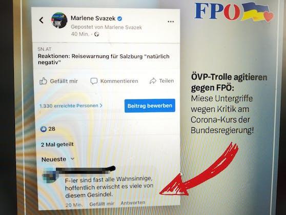 FP-Landesparteiobmann Udo Landbauer findet das Posting des ÖVP-Mitglieds als untragbar.