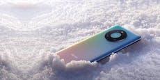 Ein iPod von Apple? Nein, es ist das neue Huawei-Handy