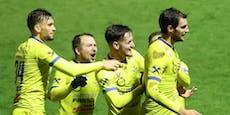 Lafnitz-Sieg im Liga-Hit, Rapid und Violets punkten