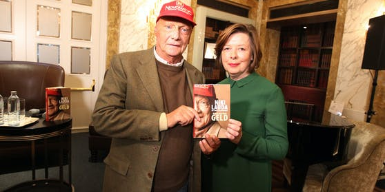 Niki Lauda und Conny Bischofberger