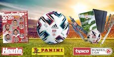 Gewinne neue PANINI-Stickeralben der Bundesliga 20-21