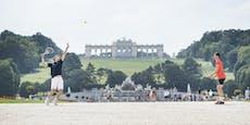 Schönbrunn und Co.: Thiem spielt Tennis in Wiener City