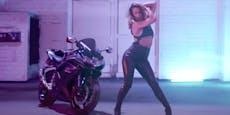 Clip-Premiere: Vanessa Mai wird zur sexy Biker-Braut!