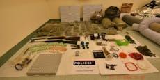 Cobra-Einsatz bringt 22 Kilo Marihuana zu Tage