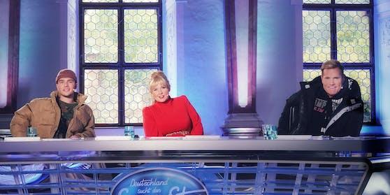 """""""DSDS""""-Jury ohne Michael Wendler: Mike Singer, Maite Kelly und Dieter Bohlen"""