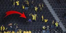 Trotz Verbot: Ein Schalke-Fan kam ins Dortmund-Stadion