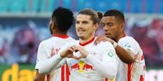 Sabitzer schießt Leipzig beim Comeback an die Spitze