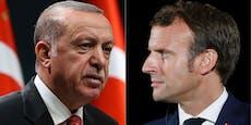"""""""Geistigen Zustand prüfen"""": Erdogan beleidigt Macron"""