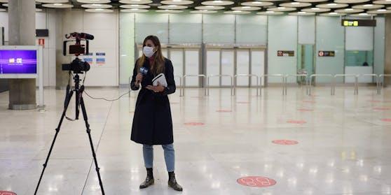 Die Flughäfen Spaniens sind ungewöhnlich leer