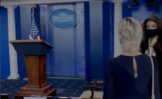 Seelenruhiger Spaziergang durch das Weiße Haus