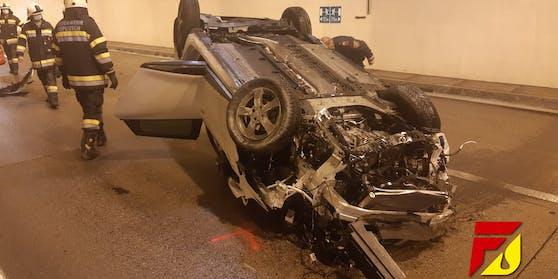 Tödlicher Verkehrsunfall im Kärntner Oswaldibergtunnel
