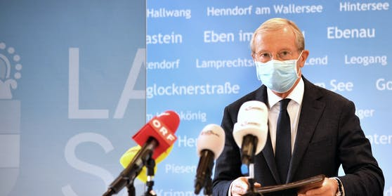 Salzburgs Landeshauptmann Wilfried Haslauer (ÖVP)