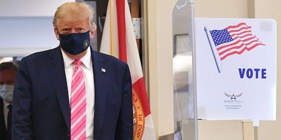 """Donald Trump:""""Ich habe für einen Typen namens Trump gestimmt"""""""