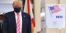"""Trump wählte """"Typen namens Trump"""""""