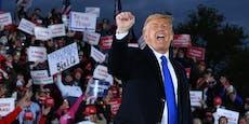 Corona-Rekord in den USA - und Donald Trump ärgert sich