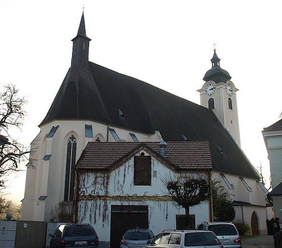 Die Pfarrkirche in Neuhofen an der Ybbs
