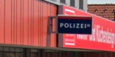 Corona-Fall bei der Polizei, Dienststelle gesperrt