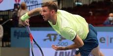 Auftakt-Aus! Novak bei Erste Bank Open gescheitert